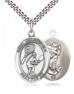 St. Christopher Tennis Medal [EN6522]