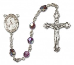 St. Finnian of Clonard Sterling Silver Heirloom Rosary Fancy Crucifix [RBEN1194]