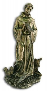 St. Francis Statue - 12 Inches  [GSCH1109]