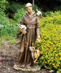 St. Francis Statue - 36.5 inch [RM0292]