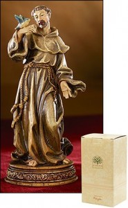 "St. Francis Statue - 6.25""H [MIL1042]"