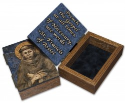 St. Francis of Assisi Keepsake Box [NGK023]