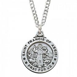 St. Francis of Assisi Medal [ENMC075]