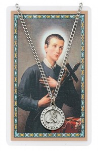 St. Gerard Majella Medal with Prayer Card [PC0104]