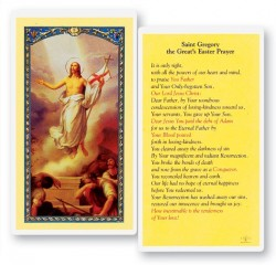 St. Gregory Easter Laminated Prayer Cards 25 Pack [HPR786]