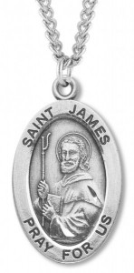 St. James Medal Sterling Silver [HMM1118]