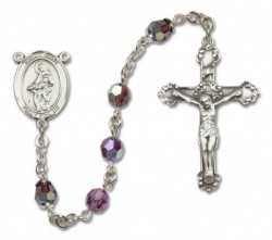 St. Jane Frances de Chantal Sterling Silver Sterling Silver Heirloom Rosary Fancy Crucifix [RBEN1231]