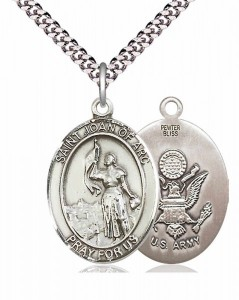St. Joan of Arc Army Medal [EN6131]