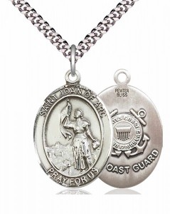 St. Joan of Arc Coast Guard Medal [EN6132]
