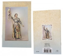 St. Joan of Arc Novena Prayer Pamphlet - Pack of 10 [HRNV967]