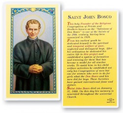 St. John Bosco Biography Laminated Prayer Cards 25 Pack [HPR468]