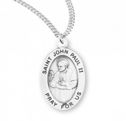 Women's St. John Paul II Oval Medal [HMM3119]