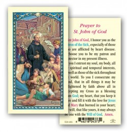 St. John of God Laminated Prayer Cards 25 Pack [HPR466]