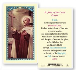 St. John of The Cross Laminated Prayer Cards 25 Pack [HPR469]