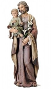 "St. Joseph with Child Statue - 37"" [SAR1015]"