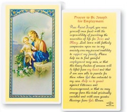 St. Joseph Employment Laminated Prayer Cards 25 Pack [HPR637]