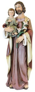 "St. Joseph Full Color Statue 25"" [RM6596]"