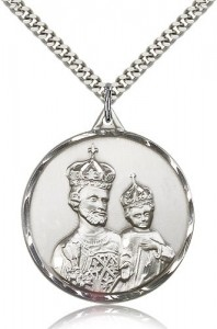 Men's Large Regal St. Joseph Medal [CM2132]