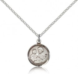 Petite St. Joseph Necklace for Women [CM2230]