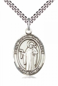 St. Joseph The Worker Medal [EN6349]