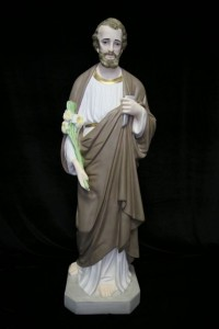 Saint Joseph the Worker Statue Hand Painted - 40 inch [VIC9005]