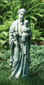 St. Joseph With Child Outdoor Garden Statue 20u201c [GAR1024]