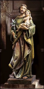 "St. Joseph with Child Statue - 48""H [MIL1063]"