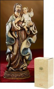St. Joseph with Child Statue - 6.5 Inch [MIL1041]
