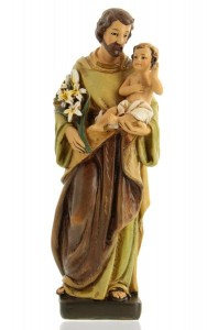 "St. Joseph with Child Statue - 8""H [MTC004]"