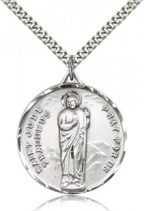 Men's Large Saint Jude Medal [CM2140]