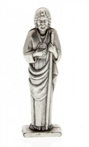 St Jude Pocket Statue with Holy Card [HPC007]