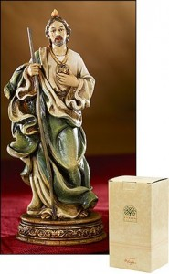 St. Jude Statue - 6.75 Inch [MIL1039]