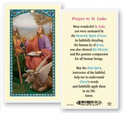 St. Luke Laminated Prayer Cards 25 Pack [HPR482]
