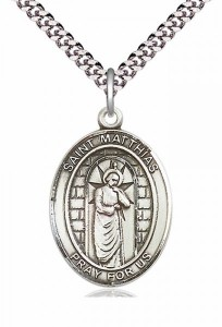 St. Matthias the Apostle Patron Saint Medal [EN6459]