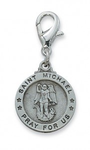 St. Michael Clipable Charm [AUMV014]