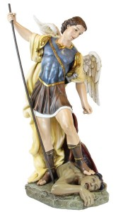 "St. Michael Full Color Statue 26.5"" [RM4047]"