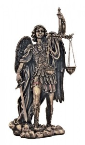 St. Michael Justice Statue - 11 inches [GSS017]
