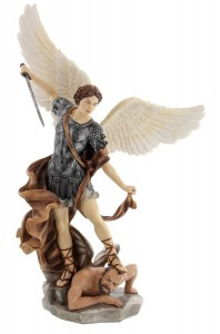 St. Michael Statue - 14.5 Inches [GSCH1033]