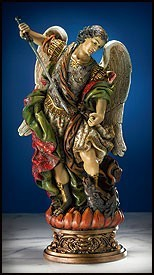 St. Michael Statue - 9.75 Inch High [MIL1030]