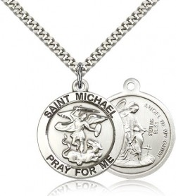 Men's St. Michael The Archangel Medal [BM0798]