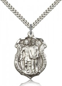 Men's St. Michael The Archangel Medal [BM0804]
