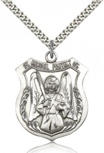 Men's St. Michael The Archangel Medal [BM0805]