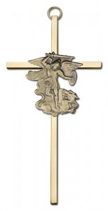 "St. Michael Wall Cross 6"" [CRB0047]"