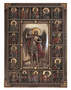 St. Michael Wall Plaque - 12 Inches [GSS016]