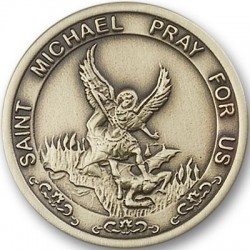 St. Michael the Archangel Visor Clip [AUBVC100]