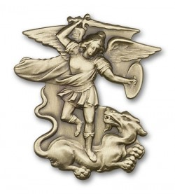 St. Michael the Archangel Visor Clip [AUBVC020]