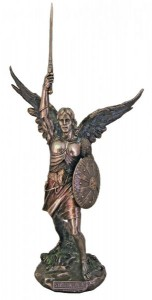 St. Michael Statue without Devil - 18 inches [GSS015]