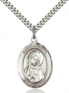 Oval Saint Monica Medal [EN6190]
