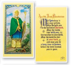 St Patrick An Irish Benediction Laminated Prayer Cards 25 Pack [HPR644]