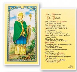 St. Patrick Hail Glorious Saint Laminated Prayer Cards 25 Pack [HPR640]
